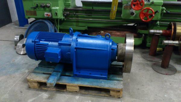 Motoréducteur révisé avant remontage sur site - Maintenance électro-mécanique sur site