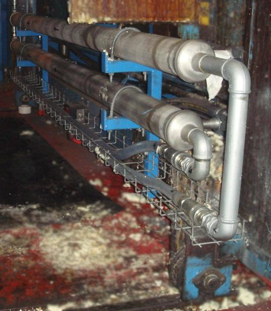 Hight pressure Heat Exchanger for Continuous Lines - null