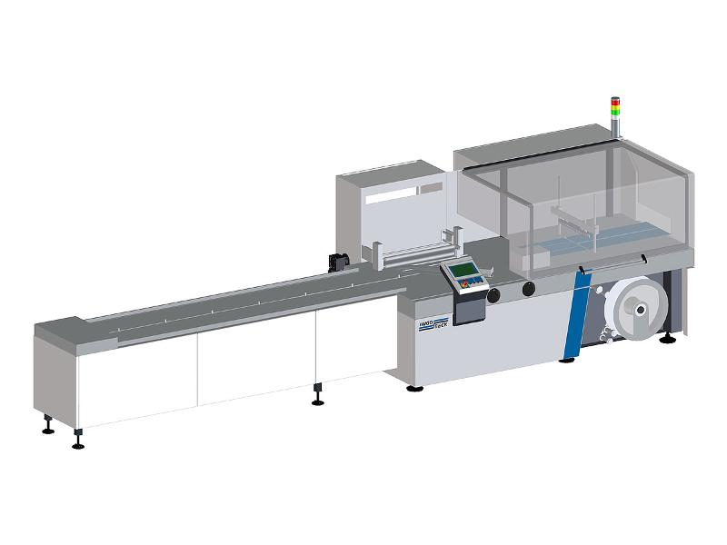 servo X Form Fill and Seal Machine - They cover the broadest possible range of horizontal film packaging applications