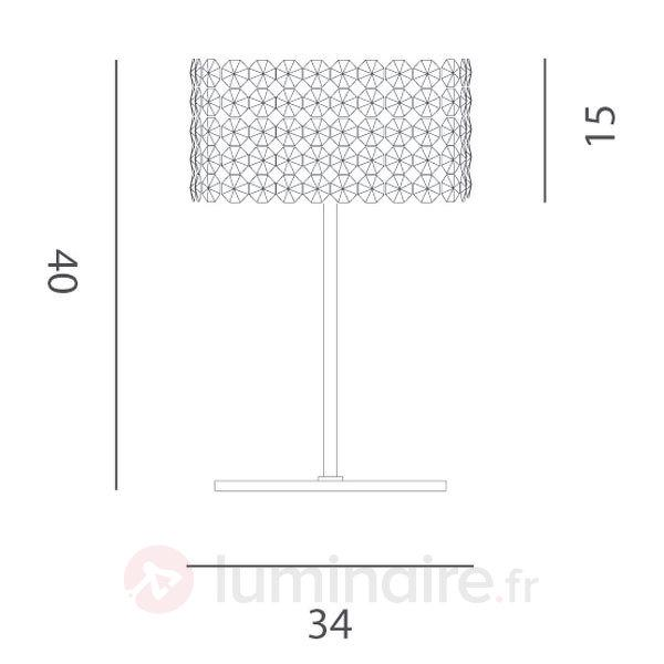 Lampe à poser en cristal BACCARAT - Lampes à poser en cristal