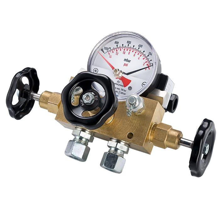 Gauges / Thermometers and Accessories - Differential pressure gauge DM