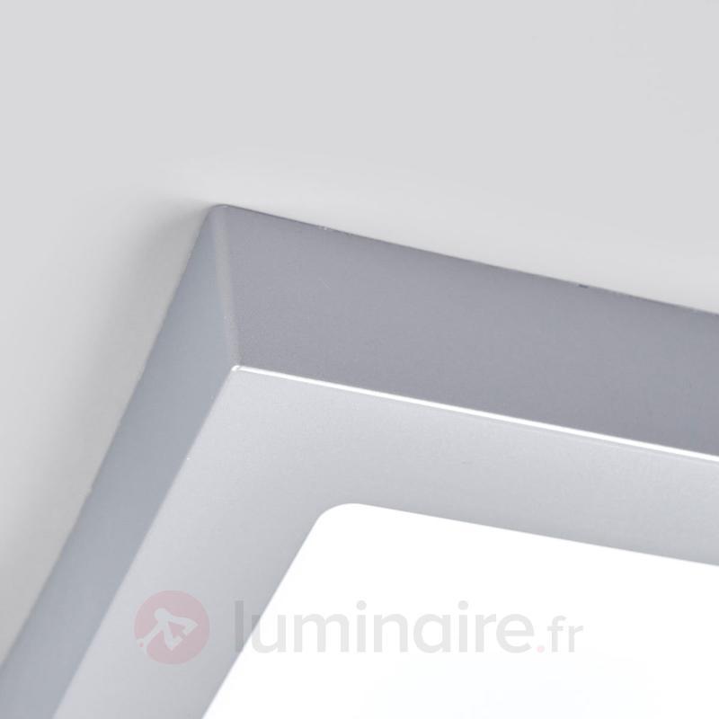 Plafonnier LED pour salle de bain Marlo, argenté - Salle de bains
