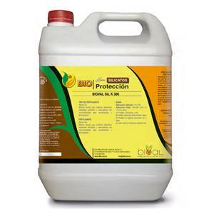 Bioval Sil K 380 - Silicato potásico, silicio y óxido de potasio