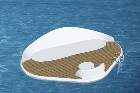 Friendly - Luxury Floating Platform - for elegant and exclusive beach resorts and swimming-pools