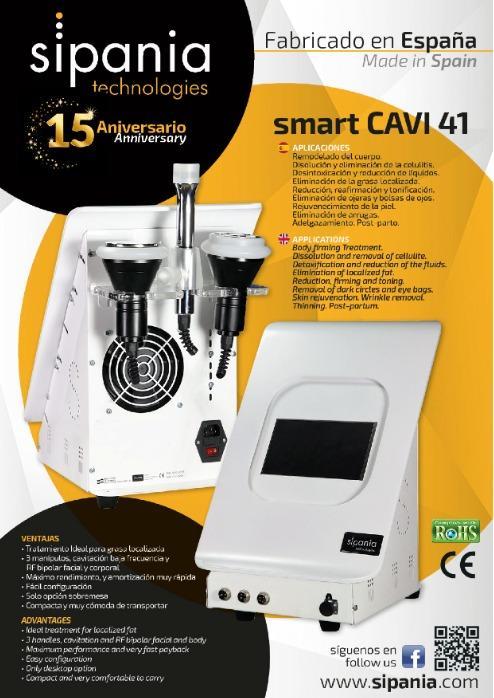 smart CAVI 41 - La más potente tecnología. Máximo rendimiento, y amortización muy rápida. Fabric