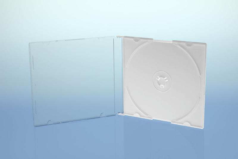 CD Slimcase - 5.2mm - weiß - kartoniert - Slimcases & Maxiboxen