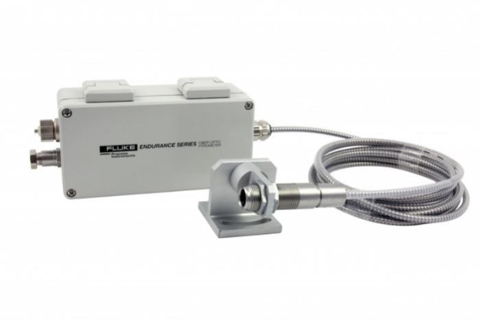 EndurancePyrometer Glasfaser abgesetztemSensorkopf - IR-Thermometer, Messtemp. 250 – 3200 °C, Umgebungstemp. bis 315 °C ohne Kühlung