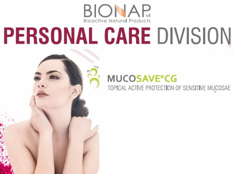 Mucosave CG - Natural cosmetic ingredients - Topical active protection sensitive mucosae