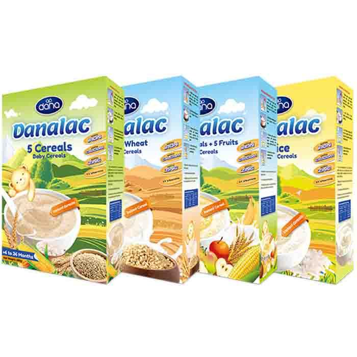 Baby Cereals - DANALAC - Baby food & nutrition  - DANALAC carries all the nutrients and vitamins required for growing babies