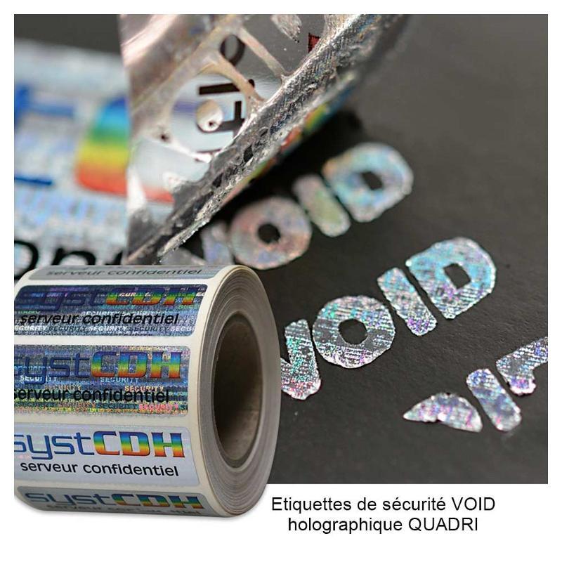 Étiquettes de sécurité VOID - Étiquettes de sécurité