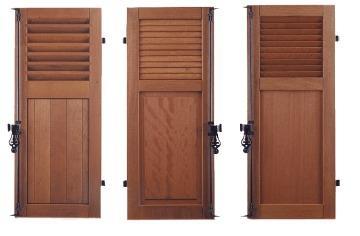 Shutters | Wooden Exterior  - Wooden Shutters