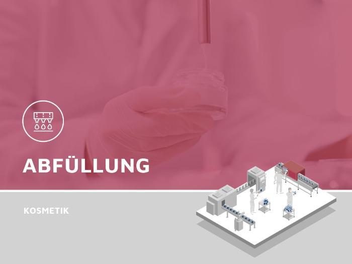 Botteling cosmetics - Botteling from liquid to pasty