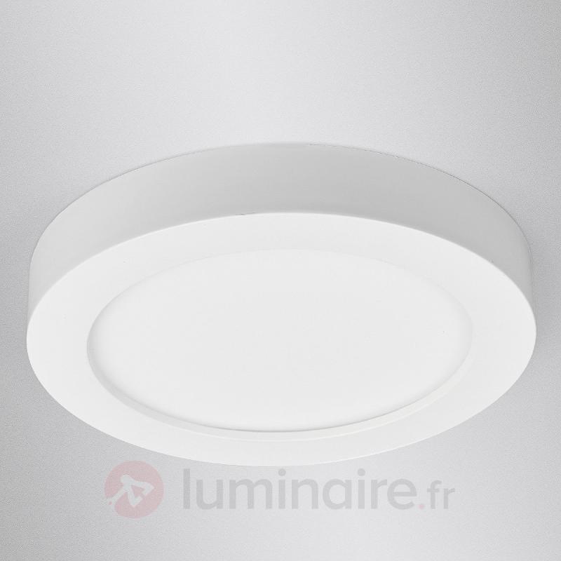 Esra - plafonnier LED blanc, IP44 - Tous les plafonniers