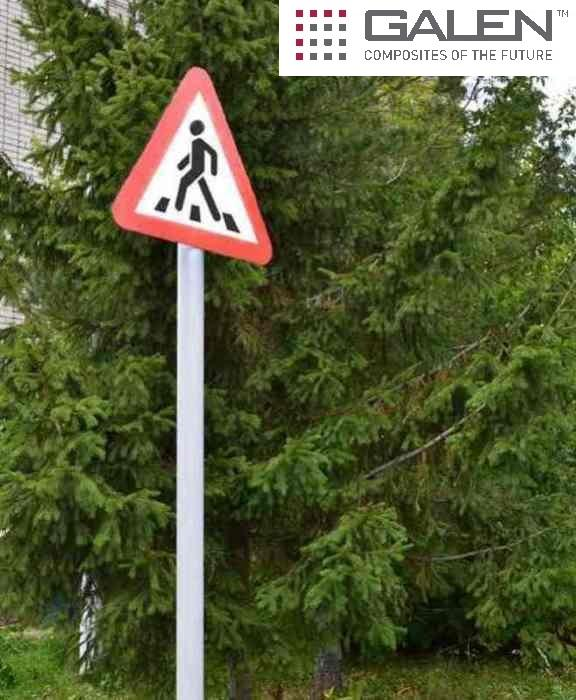 Poles of traffic signs - Composite poles of traffic signs