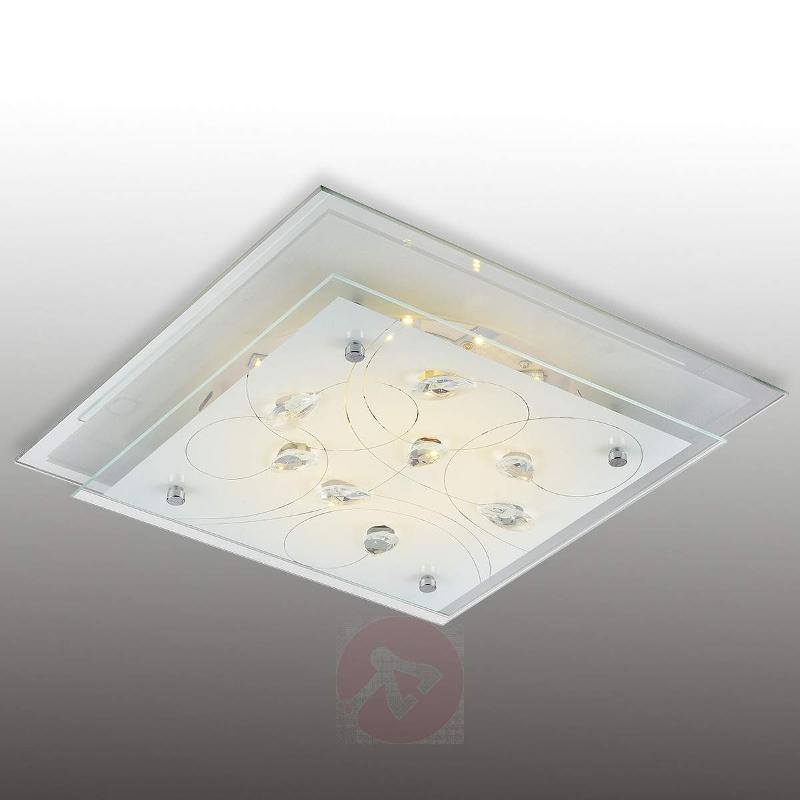 Square ceiling light Eline 33.5 cm - Ceiling Lights