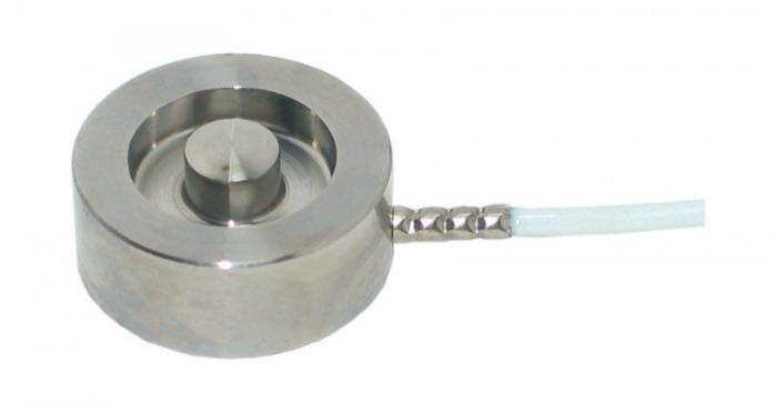 Miniature load cell  - 8415 - Miniature load cell, button type, load cell, sensors, very compact, small