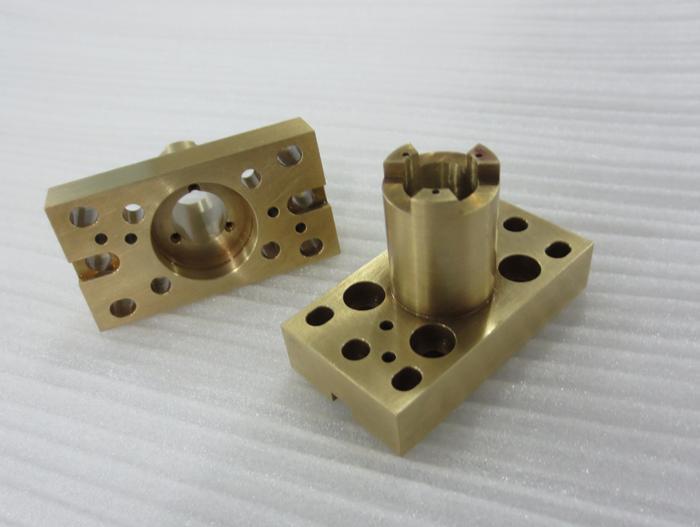 precision machine manufacturing for Copper parts - null