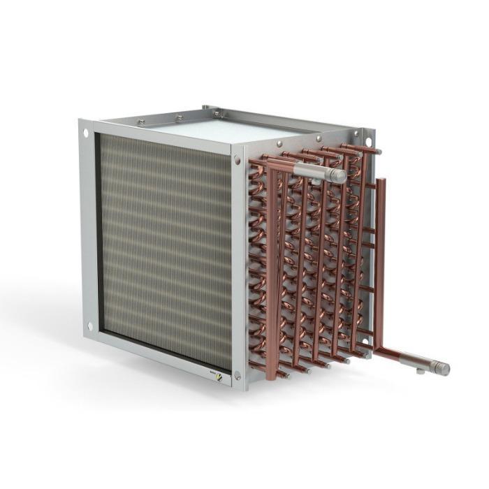 Bobinas de aletas e tubos compactas - Para suas necessidades e aplicações específicas