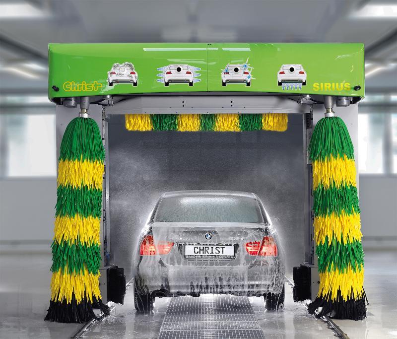 Car-Wash - Portique de lavage Christ Sirius - Efficace et durable !