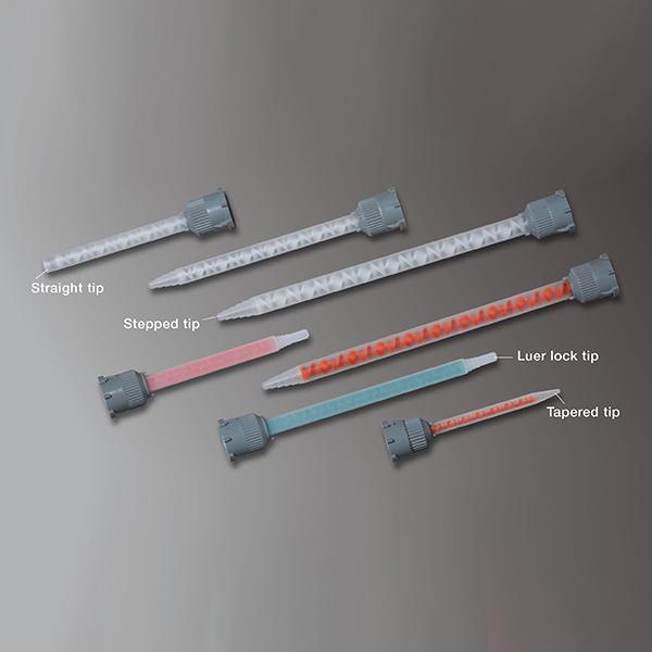 Mélangeurs - Accessoires de collage - Buses carrées pour ratio 1:1 et 1:2 polypropylène vert