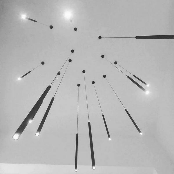 Light luminaire line