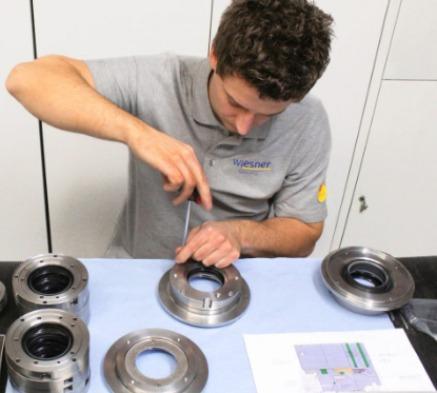 Reparatur Gleitringdichtung -
