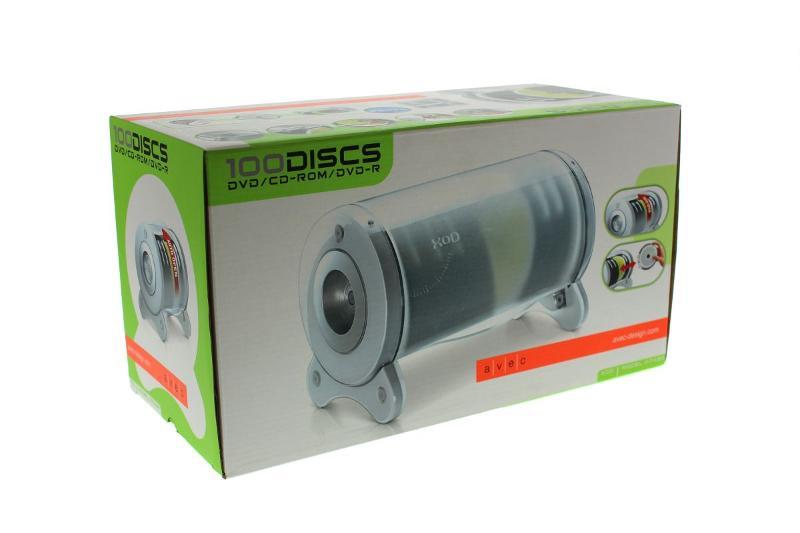 XOD - Stapelbarer Organizer für 100Discs -... - CD Archivierung