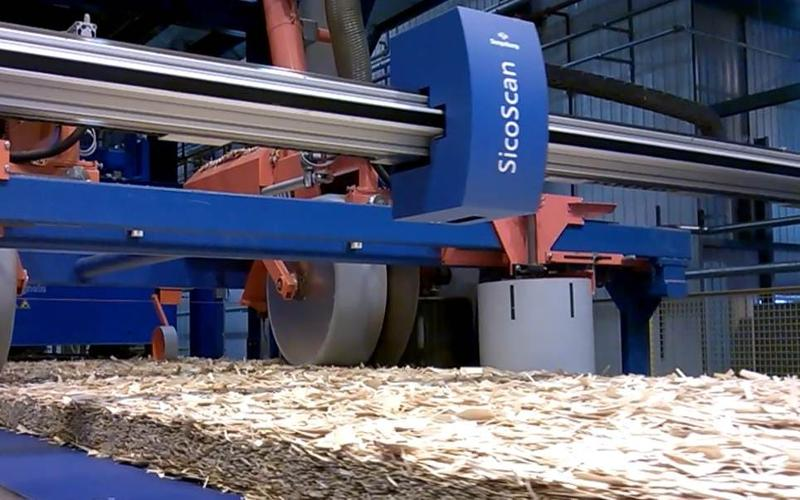 Osb-Strand Mat Trimming Saw - null