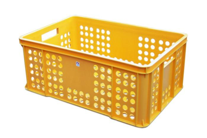 Plastic bakery crate -