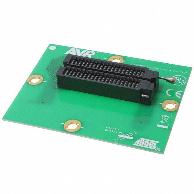 STK600 DIP SOCKET CARD AVR - Microchip Technology ATSTK600-SC01