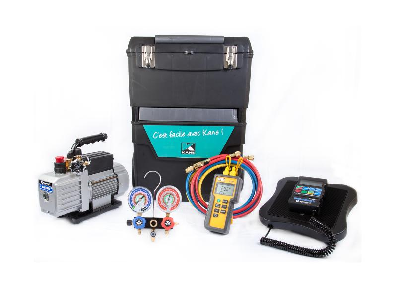 Servante complète avec manifold à cadran - Servante complète avec manifold à cadran