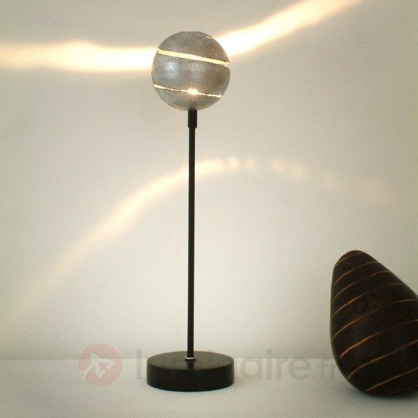 Lampe à poser KUGELBLITZ SILBER, fer - Lampes à poser pour rebord de fenêtre