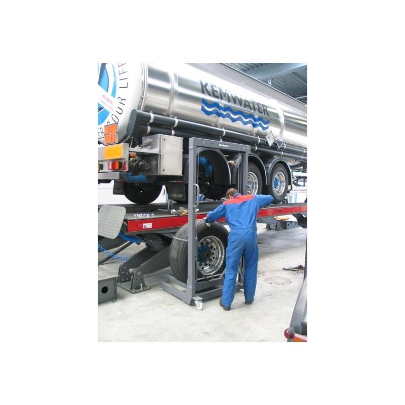 Système de levage de roue poids-lourds  - FINKBEINER