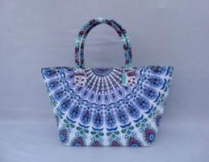 Mandala Summer tote bag -