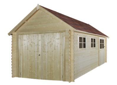 Garage bois - Madrier