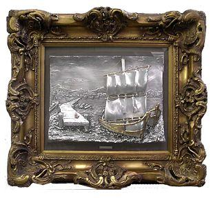 Barca sul pontile