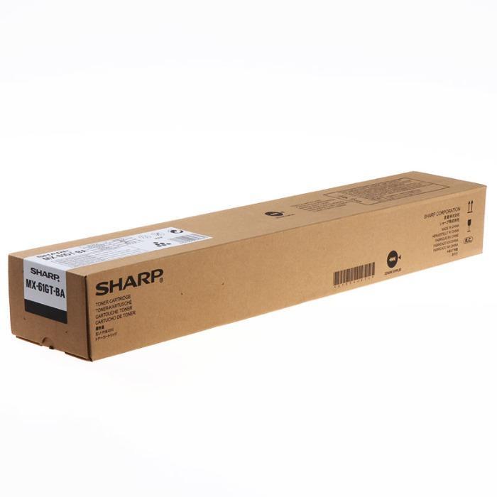 Originele toner van Sharp - Sharp Toner MX61GTBA MX-61GTBA zwart