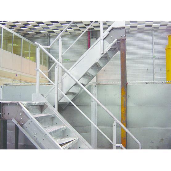 Escaliers et passerelles métalliques en kit - ESCAKIT