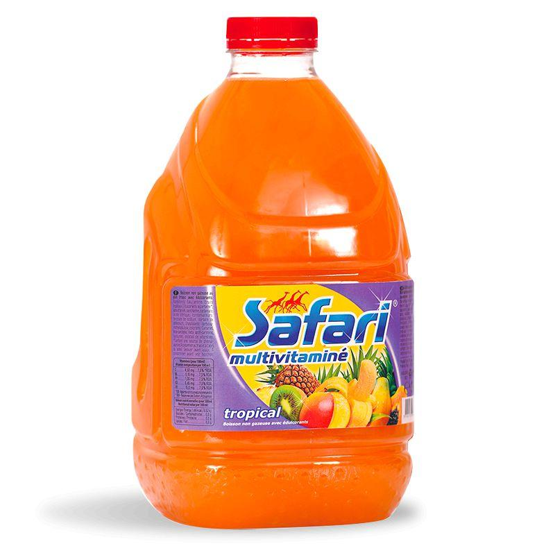 Multi-vitaminé tropical 3L - SAFARI - Multi-vitaminé tropical 3L - SAFARI