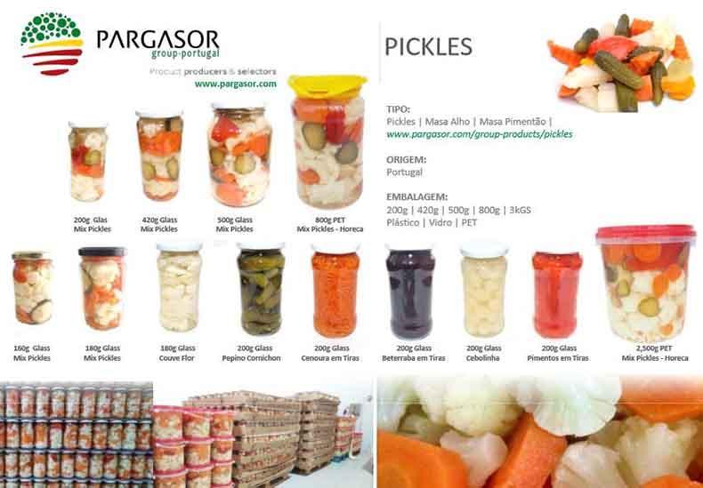 Pickles | Masa Alho | Masa Pimentão  - Pickles | Masa Alho | Masa Pimentão