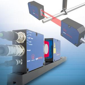 Optical Micrometers to measure diameter, gap, edge or... - optoCONTROL