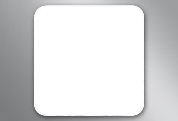 Eckiger Bierdeckel (blanko) - Stückzahl: 100 300 500 1000 100 Bemerkung