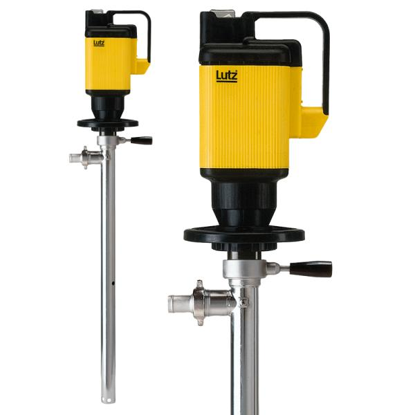 Drum pump for complete drum drainage SS with motor MA II 3 - Drum Pumps
