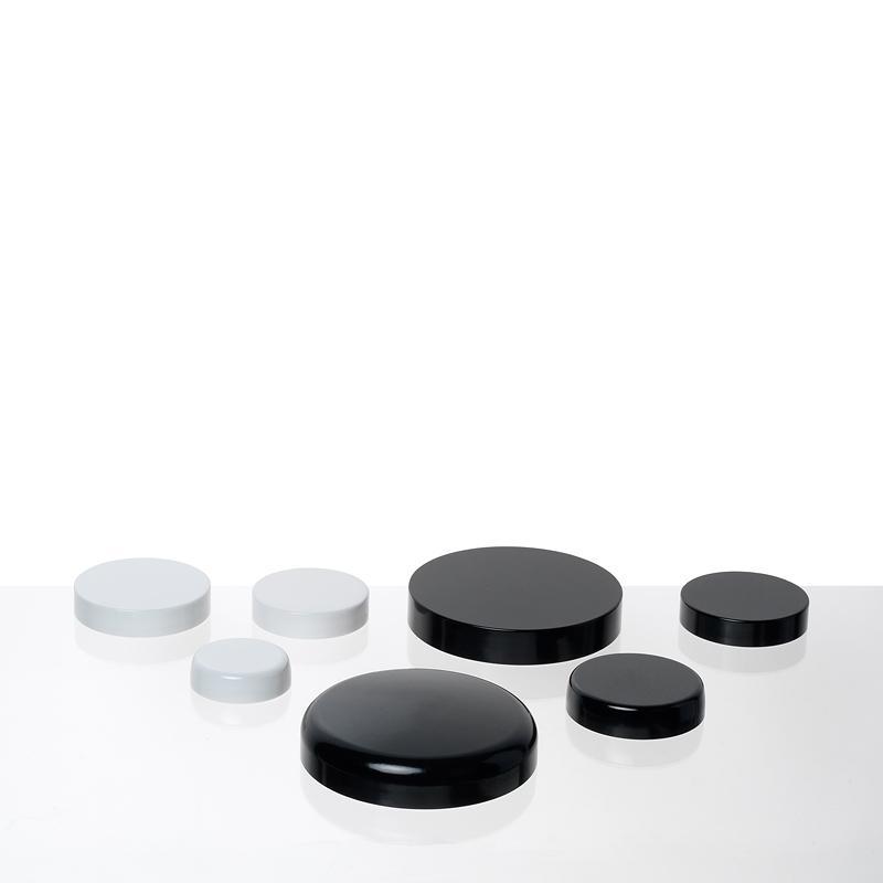 Couvercles Thermodur Bague Gcmi Noir Et Blanc - Accessoires