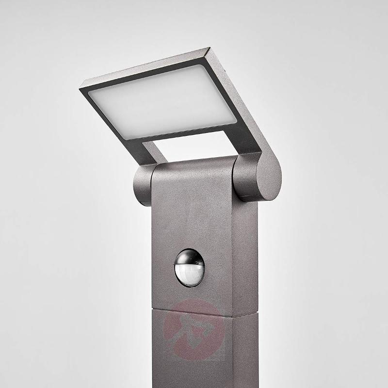 Bollard lamp Marius with motion detector, 80 cm - Path Lights with Motion Sensor