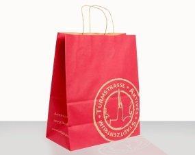 Kraft paper carrying bags - Paper sacks