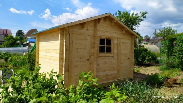 Utility block - barn 3x4m
