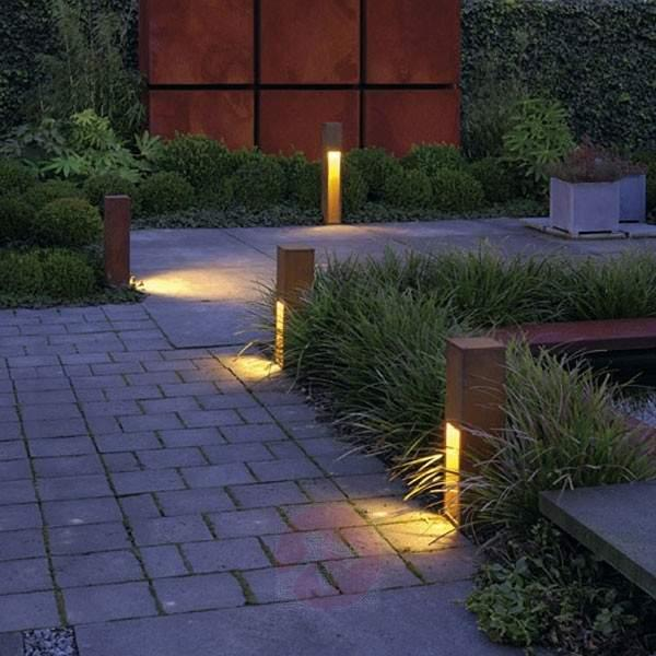 Rusty Slot 50 Pillar Light High-Quality - Pillar Lights