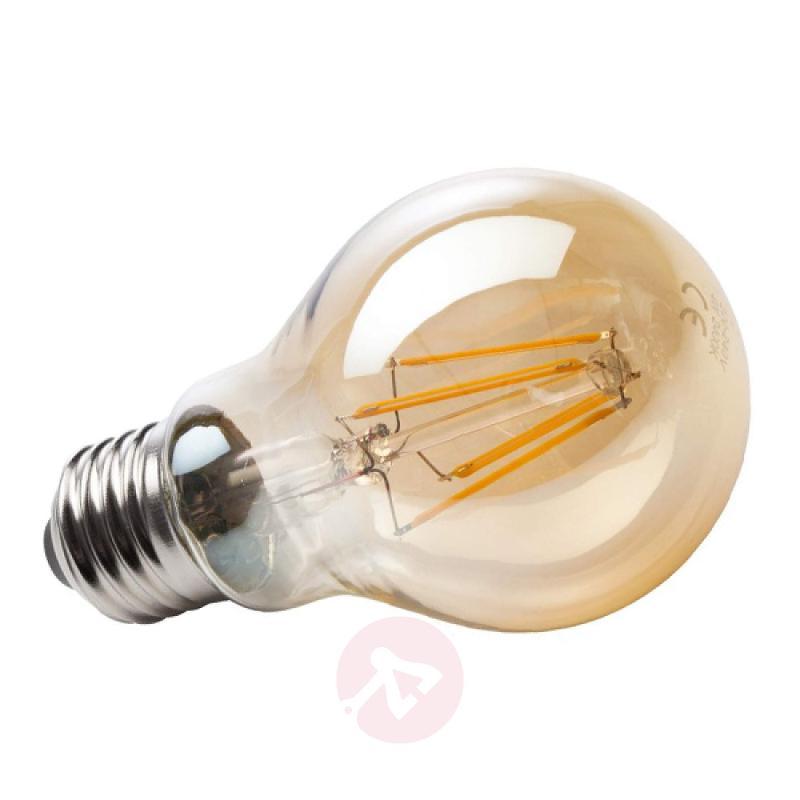 E27 4 W 820 LED filament bulb gold - light-bulbs