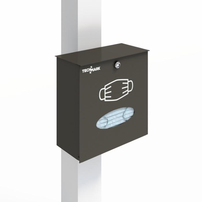 Wielofunkcyjny słupek TECHPOST - Wielofunkcyjny słupek, stojak do dezynfekcji